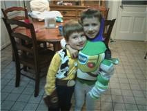 little buzz and woody